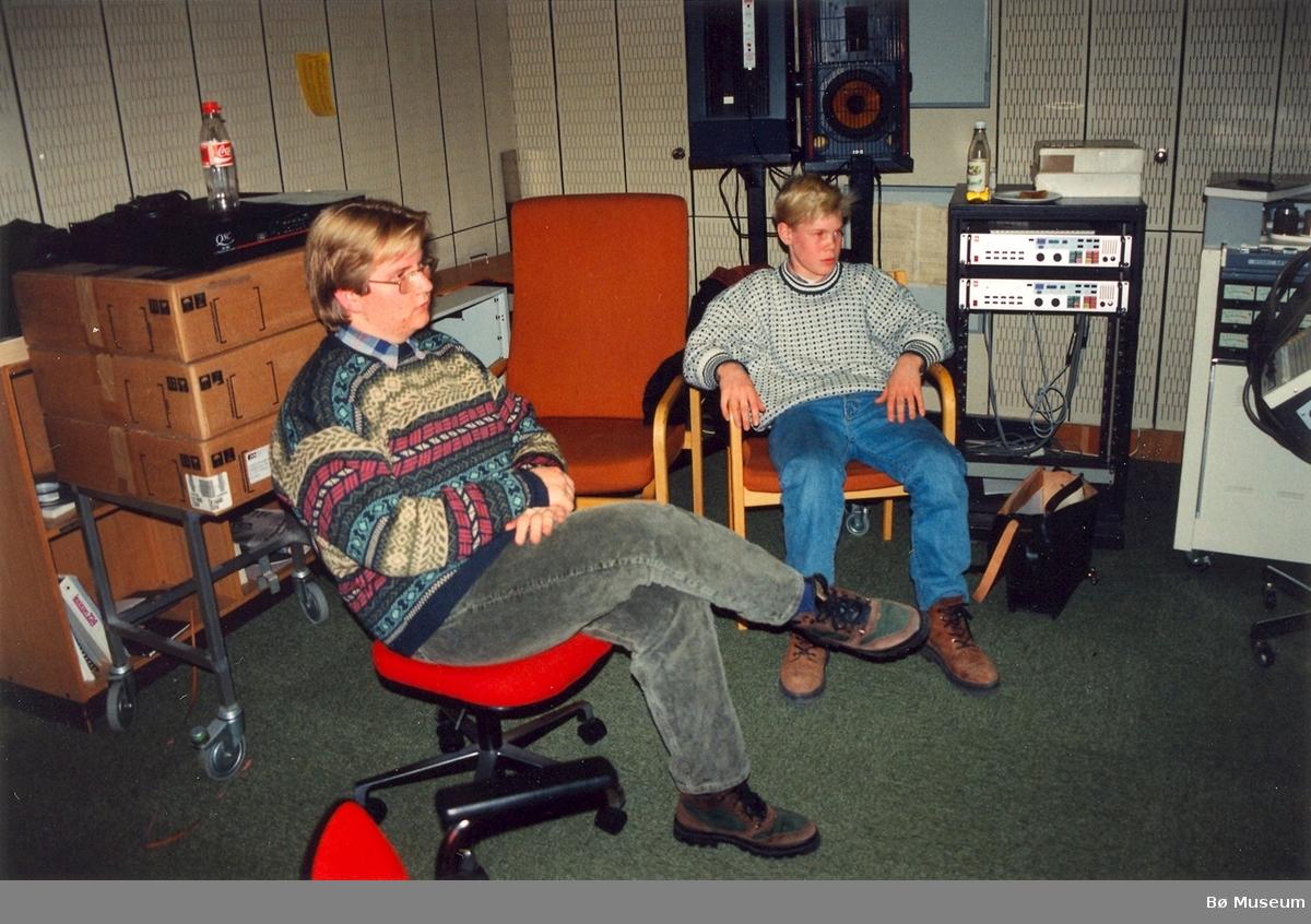 Per Anders Buen Garnås og Torgeir Straand 17.11.1995