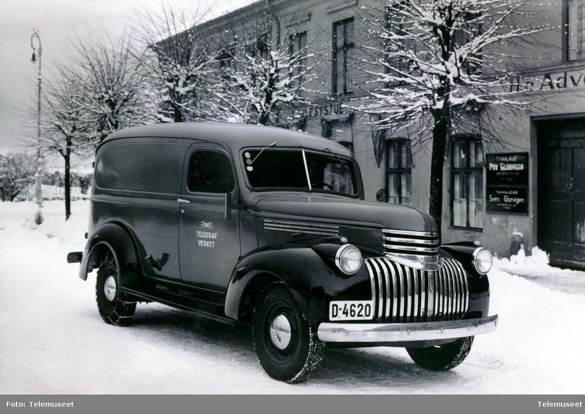 Chevrolet varebil (kassebil) Hamar nov. 1947