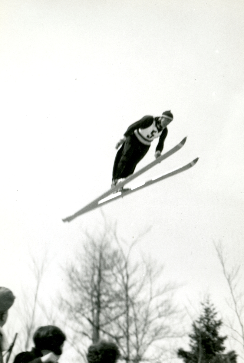 A Norwegian ski jumper