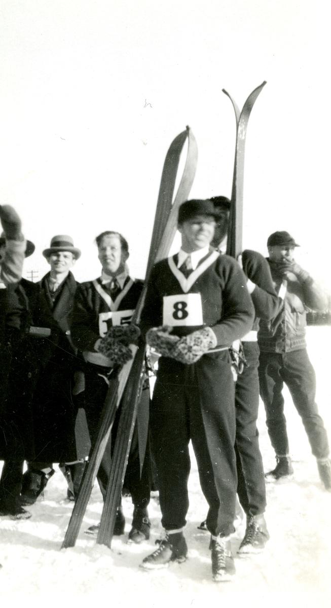 Norwegian skiers in OG at Lake Placid