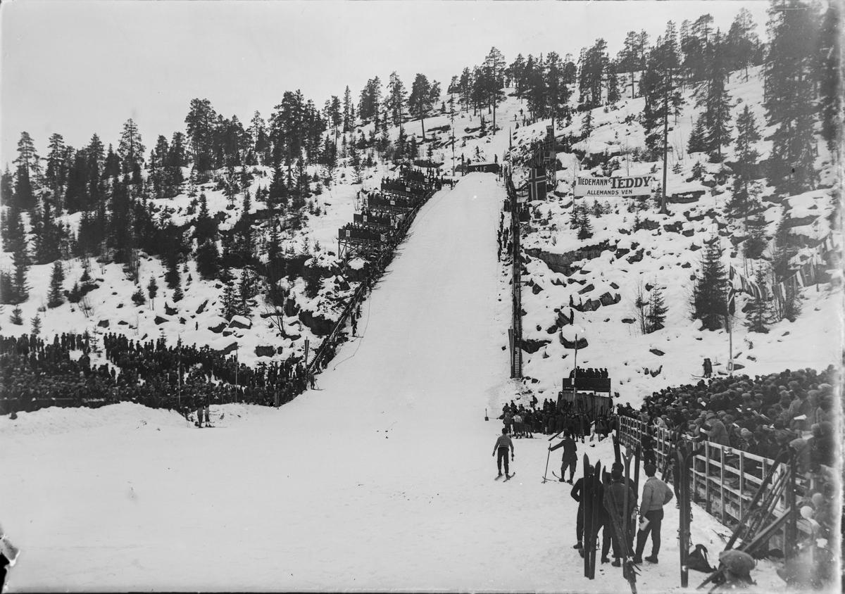 The Hannibalbakken ski jump at Kongsberg