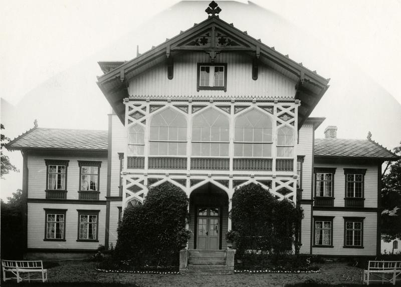 Ringve gård ca. 1920.