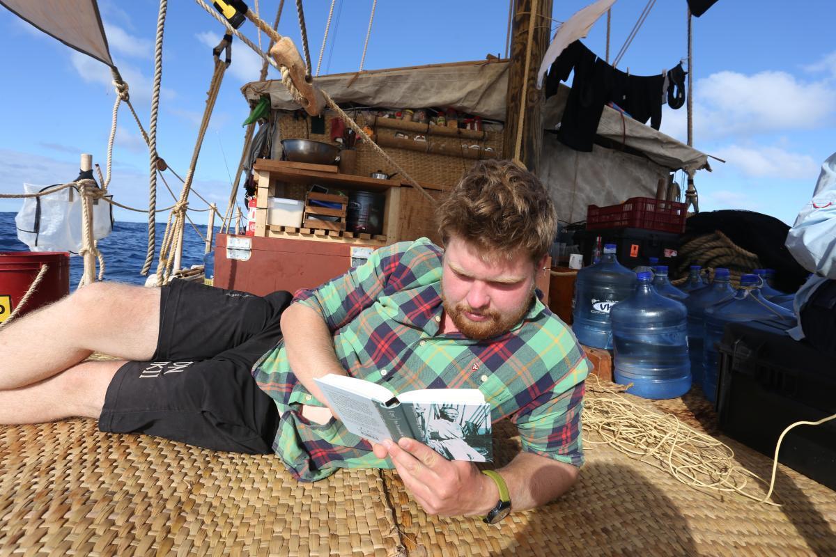 Det harde liv til sjøs. Foto: KonTiki2-ekspedisjonen.