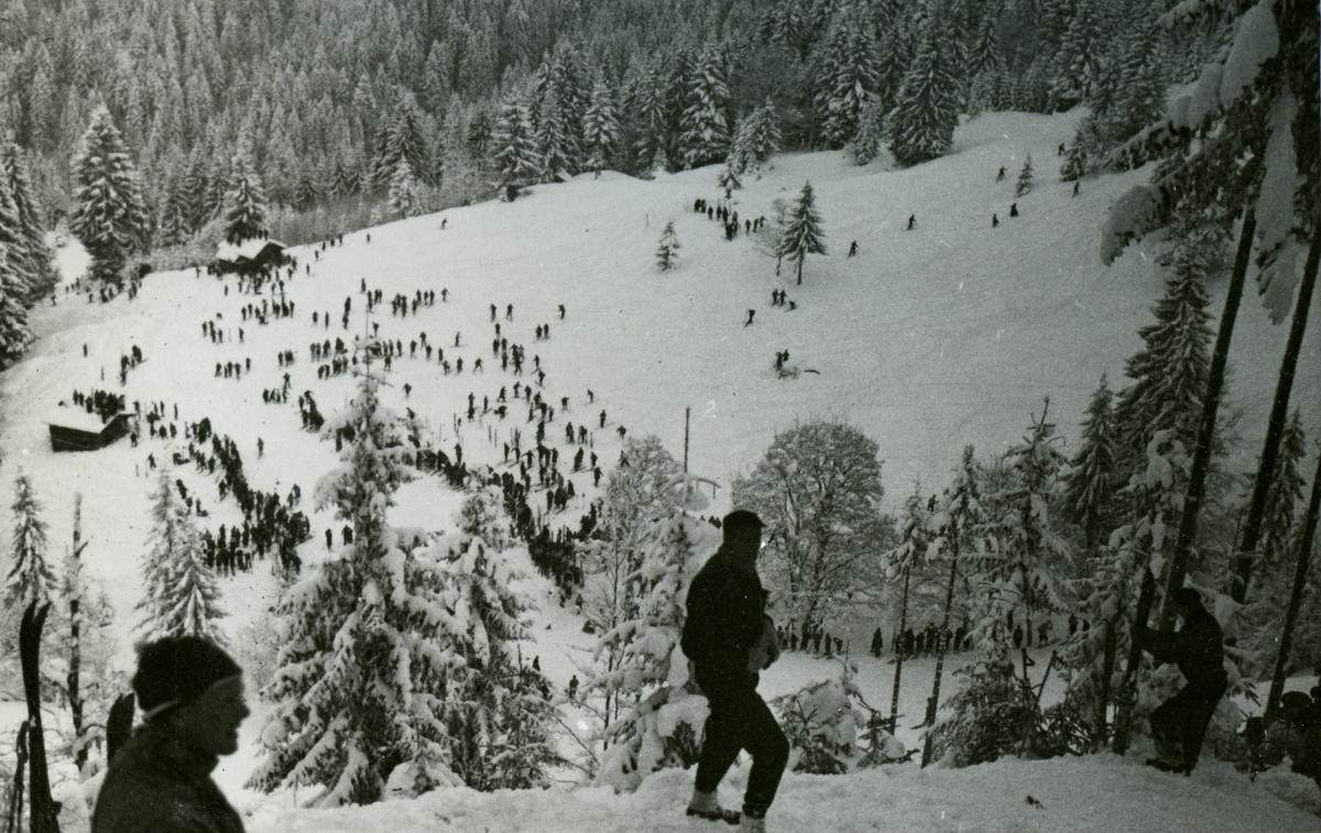 Downhill race site at Garmisch