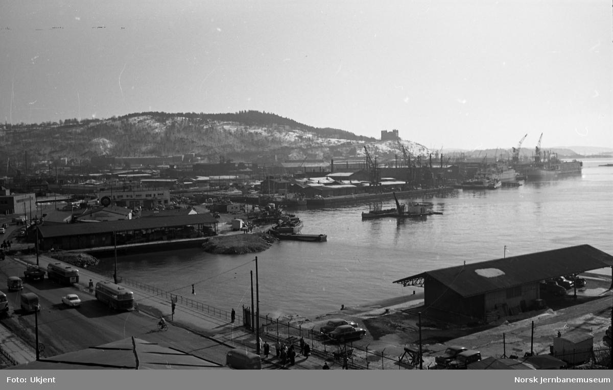 Oslo Ø, oversiktsbilde mot Bjørvika og Sørenga