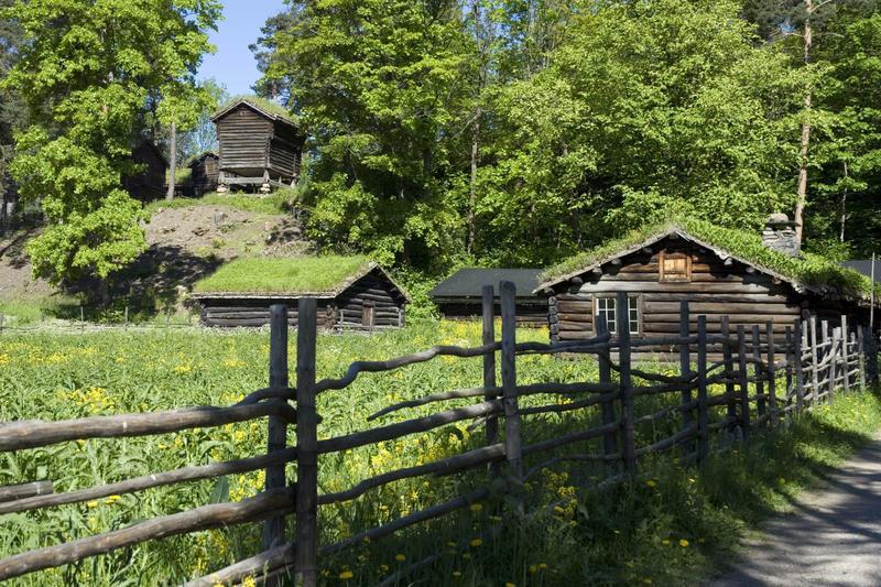 Gudbrandsdalssetra på Norsk Folkemuseum (Foto/Photo)