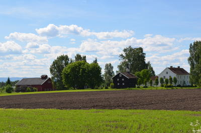 Englaug farm is the birthplace of painter Edvard Munch. (Foto/Photo)