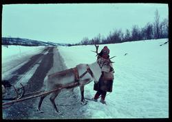 Ved Masi, Kautokeino i 1969.