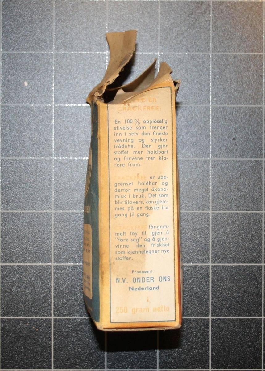 Form: Lita rektandulær pappeske
