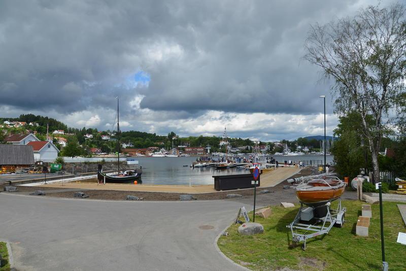 Museumshavnen på åpningsdagen. Foto: Oslofjordmuseet