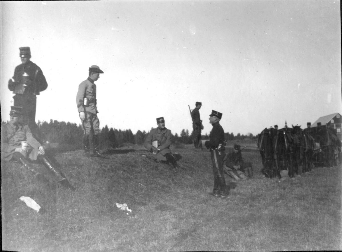 Östgötamanövern, 6.Batt. A 6.