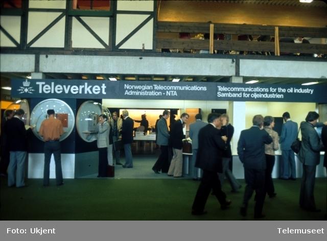 Utstillinger North Sea offshore - Stavanger.