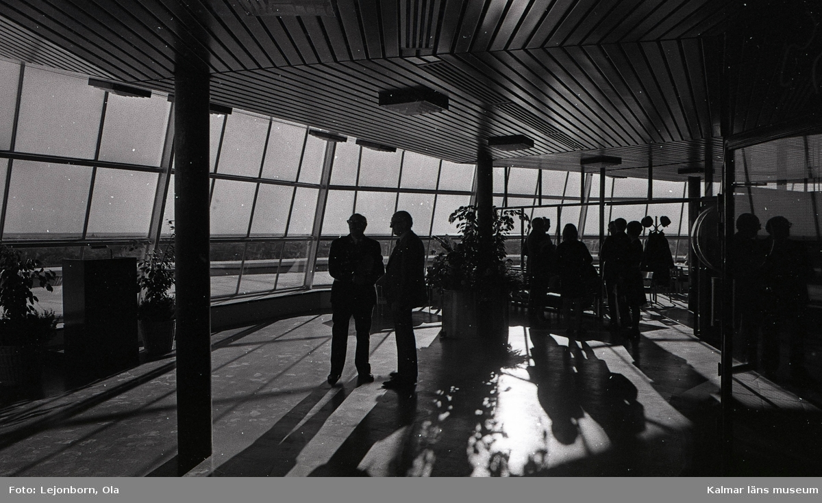 1972-10-20. Invigning av Vattentornet, Tratten. Klockan 13.30-16.00. Gatukontoret, Erik Johansson, beställare.