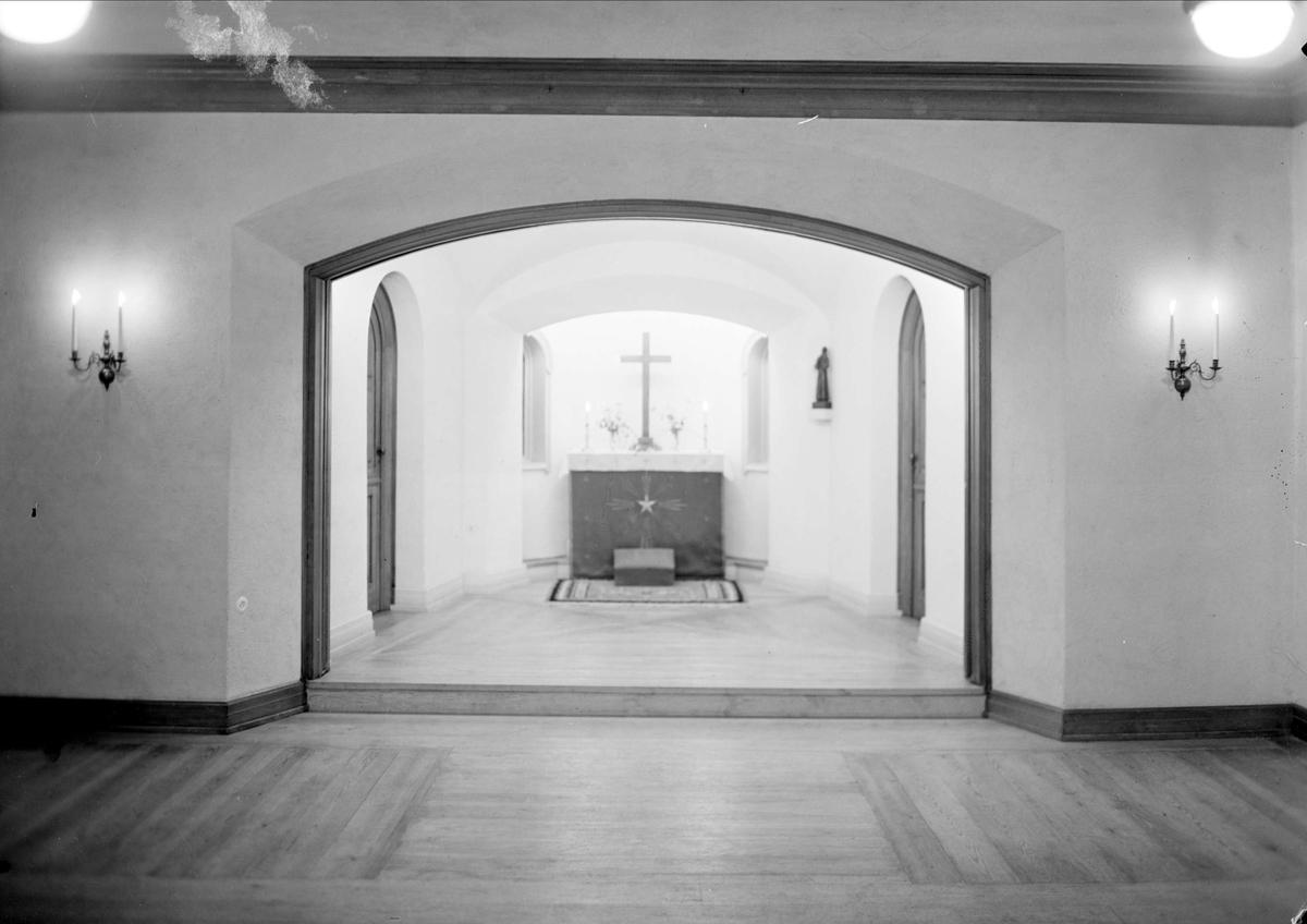 Kapell, Sjuksköterskehemmet, Samariterhemmet, Uppsala 1940