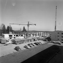 Pågående och färdiga byggen av Flerfamiljshus i Bredsand.