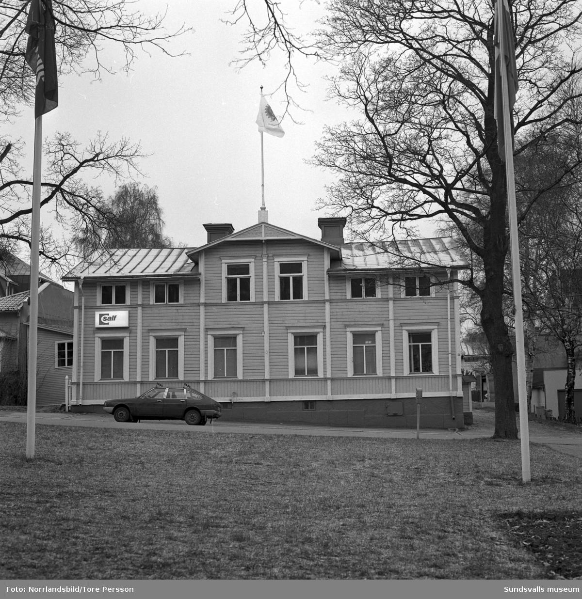 Sveriges Arbetsledareförbund (SALF), kontoret vid Esplanaden i Sundsvall.