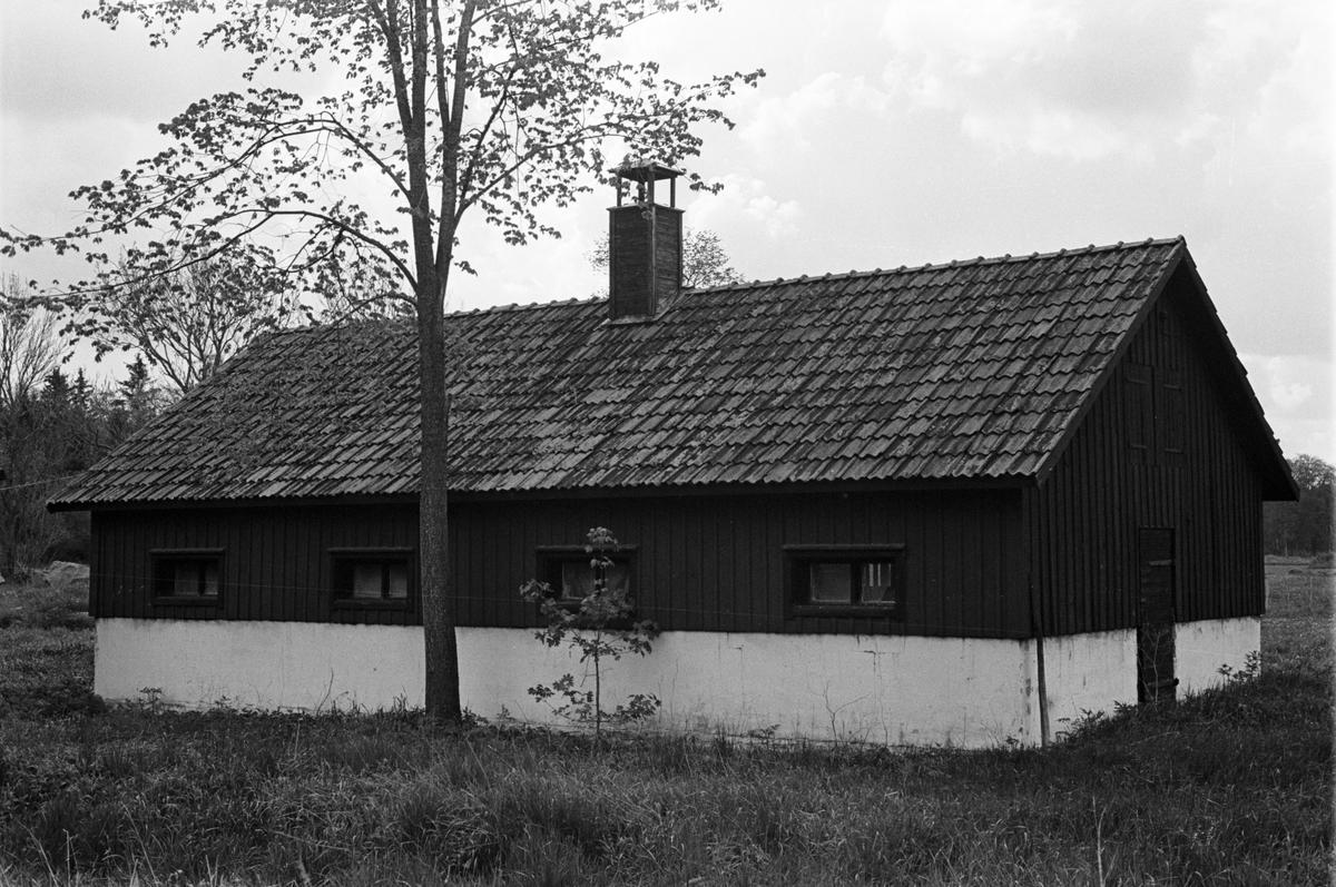 Svinhus, Lydinge 1:1, Lydinge gård, Stavby socken, Uppland 1987