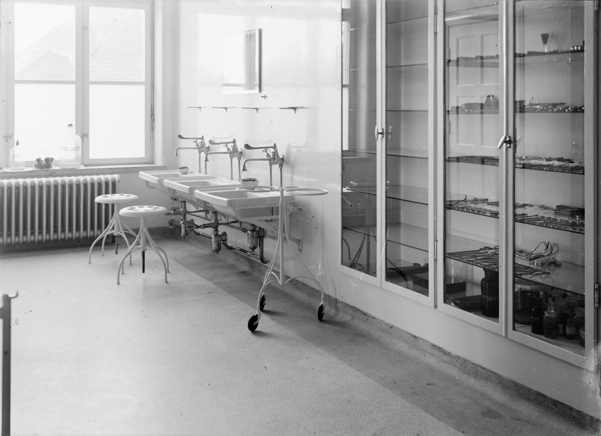 Östhammars lasarett - operationssal, Östhammar, Uppland