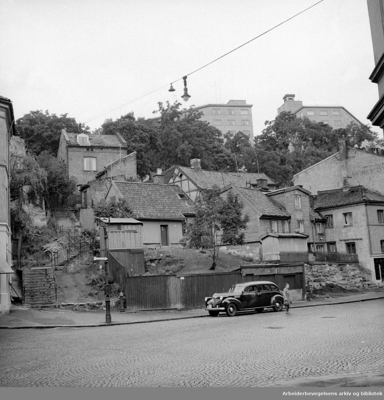 Fredensborgveien.Mars 1950