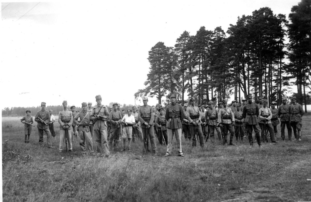 Landstormspojkar, m.fl. A 9, Karlsborg, U 12