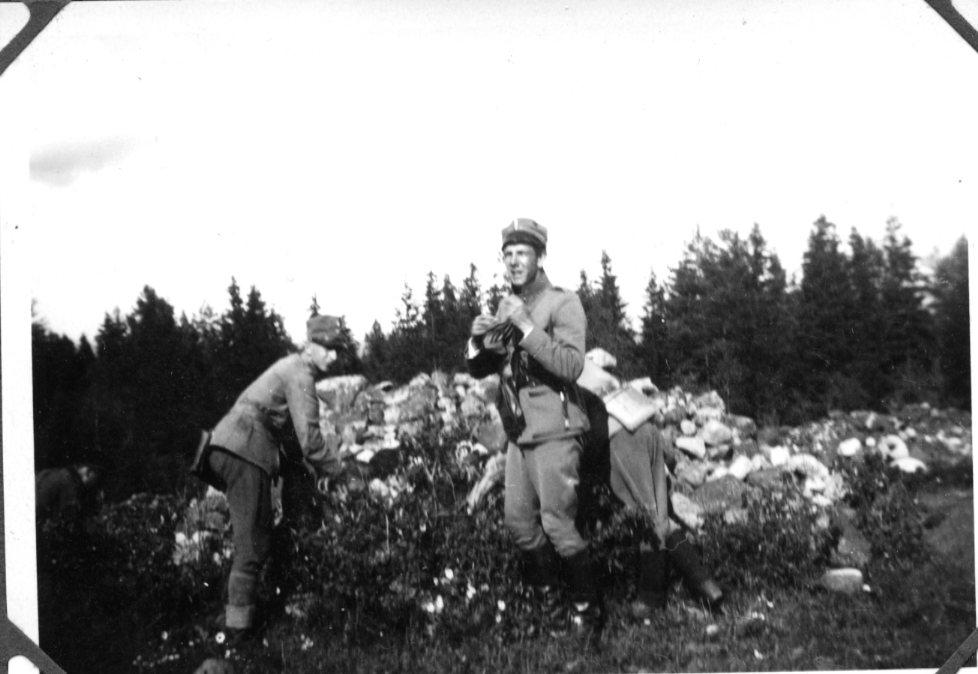 Landstormspojkar, 2 st. Karlsborg. U 12.