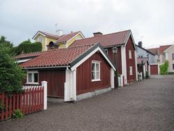 Båtsmansstugor från 1700-talet. Västervik.