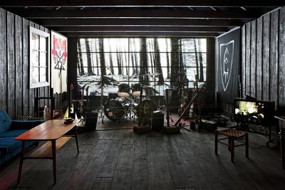 Hovedutstillingen: Black metal-rommet (Foto/Photo)