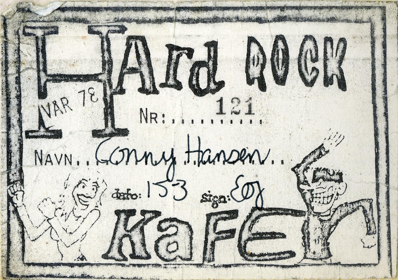 Medlemskort - Hard Rock Kafé (Foto/Photo)