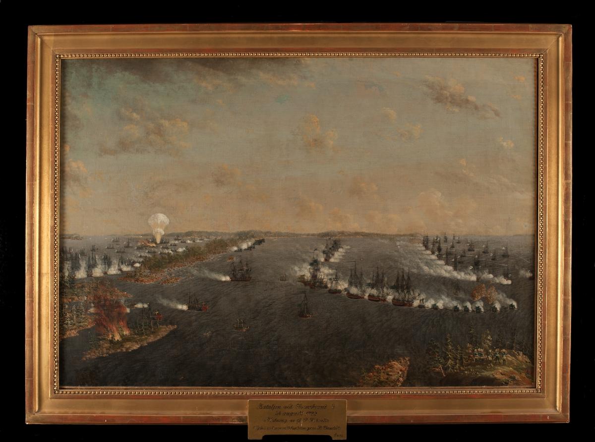 """""""Bataljen vid Svensksund den 24 Augusti 1789"""""""