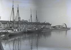 Skutor i Kalmar hamn.