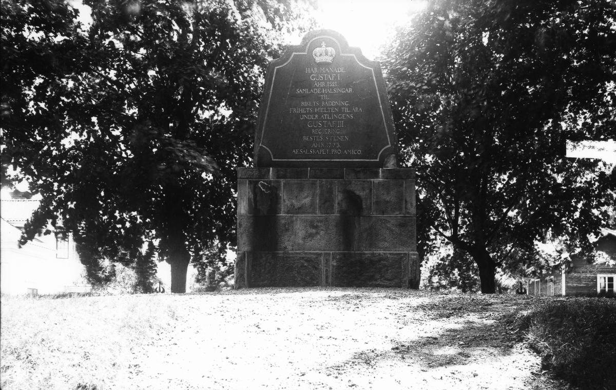 Gustav Vasa-monumentet i Norrala.