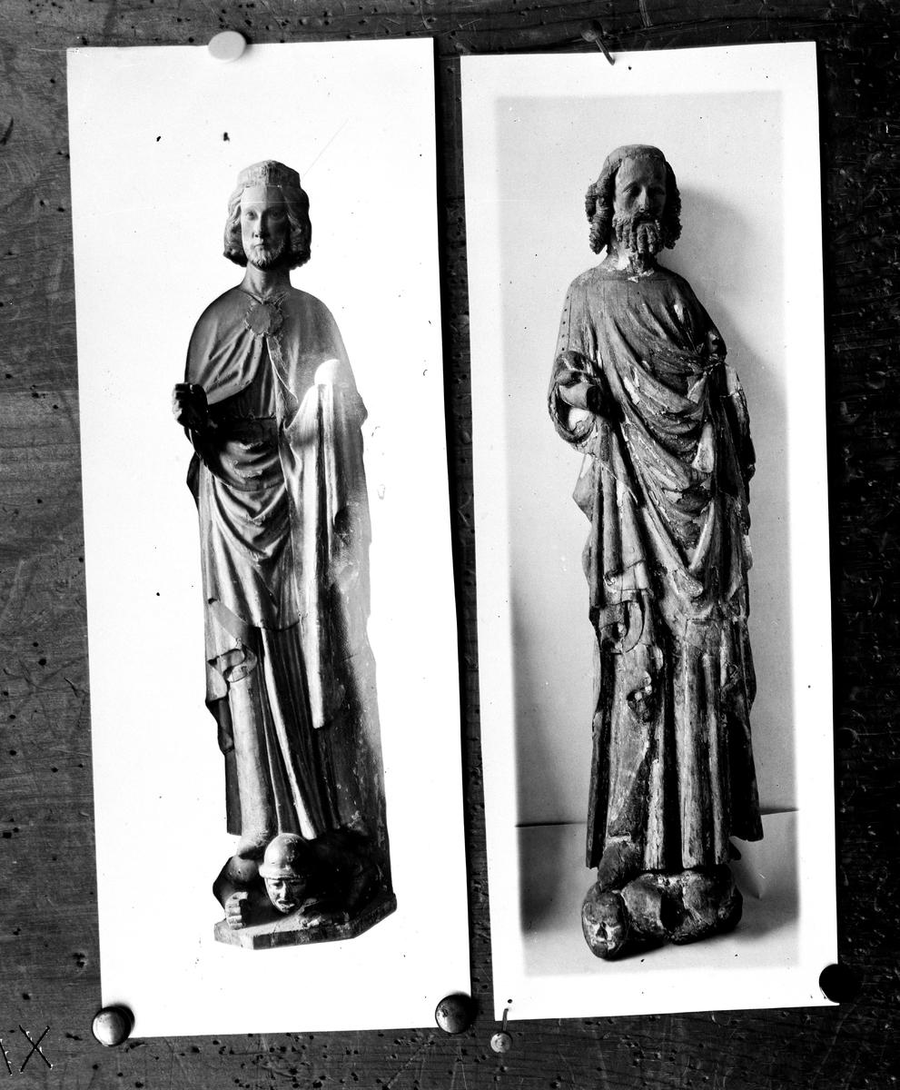 St Olov. Reproduktion av Österberg.