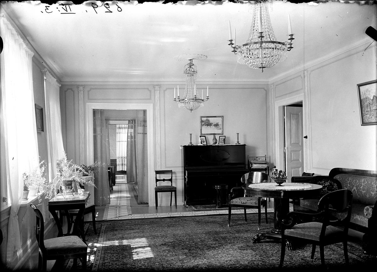 Interiör, Stäholm matsal, 1927-28.