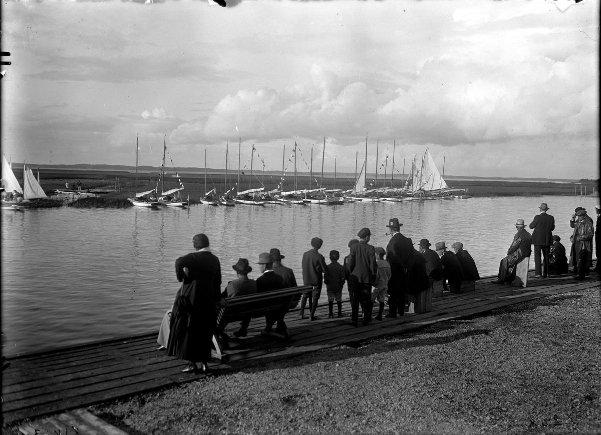 Båthamn i Kungsör.