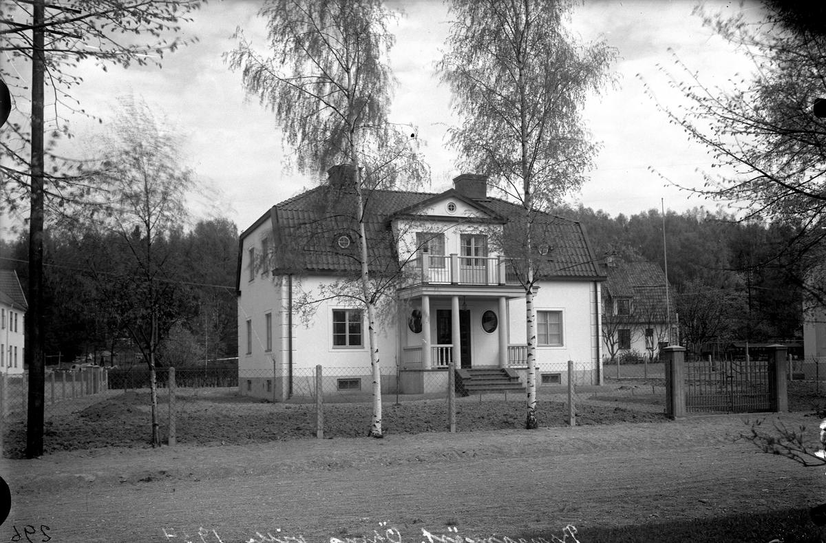 Byggmästare Örns villa, 1934.