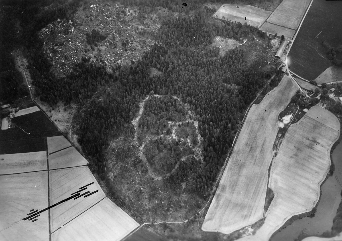 Skoftesta skans från luften, 1932