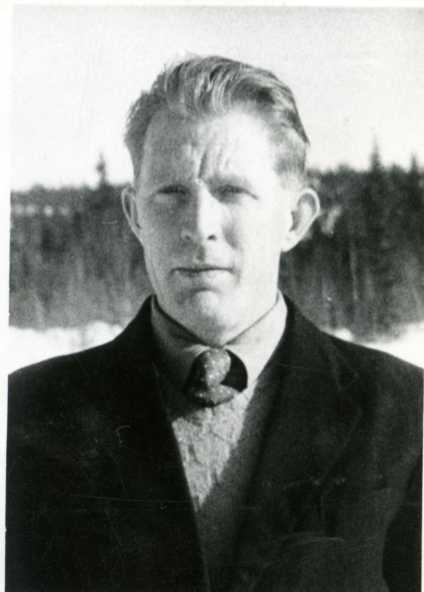 Portrett av Arne Nordhagen.
