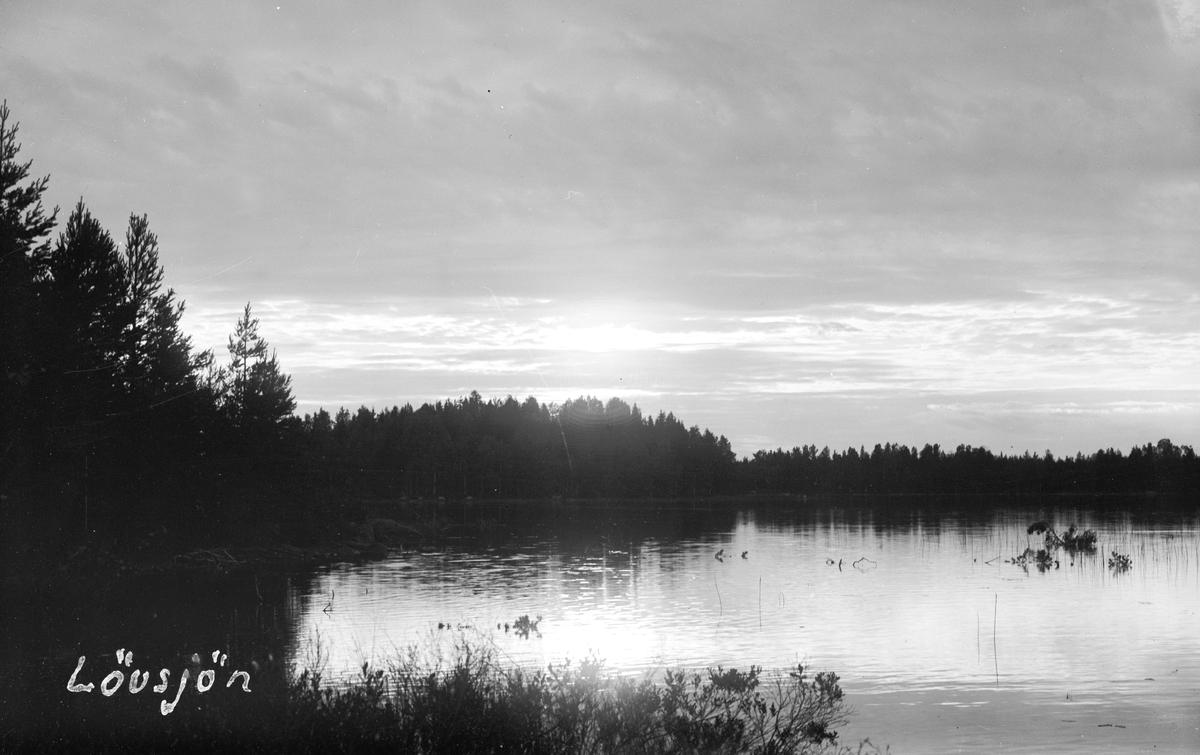 Lövsjön i Dalgränsen