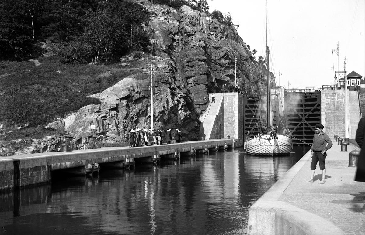 Sluss vid Trollhättan, Göta Kanal
