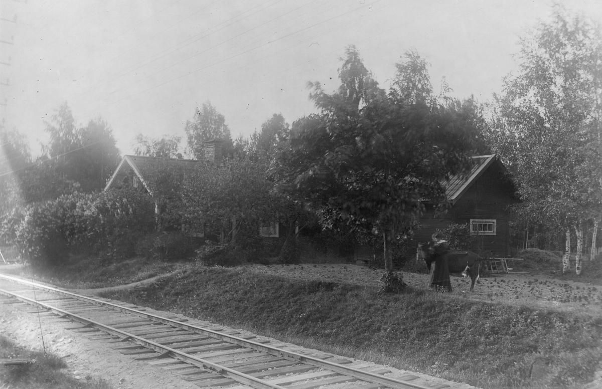 Gamla banvaktstugan mellan Lenninge och Granbo.