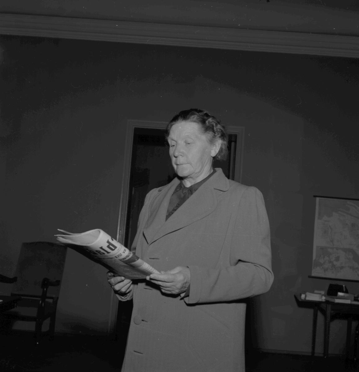 Sveriges Folkskolelärarinnerförbund. Den 3 Juli 1946
