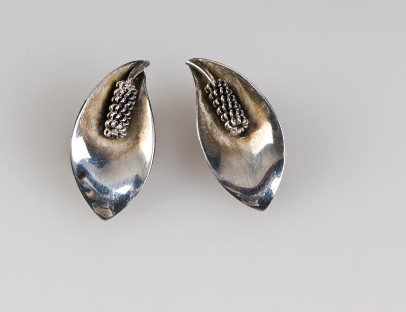 Øredobber i sølv