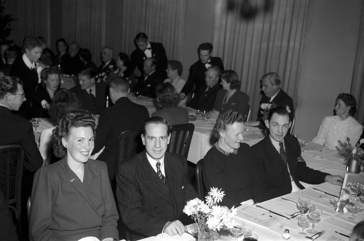 Engwall, Wictor & Co. Julfest. Januari 1948.
