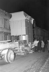 Generator transporteras. 24 oktober 1948.