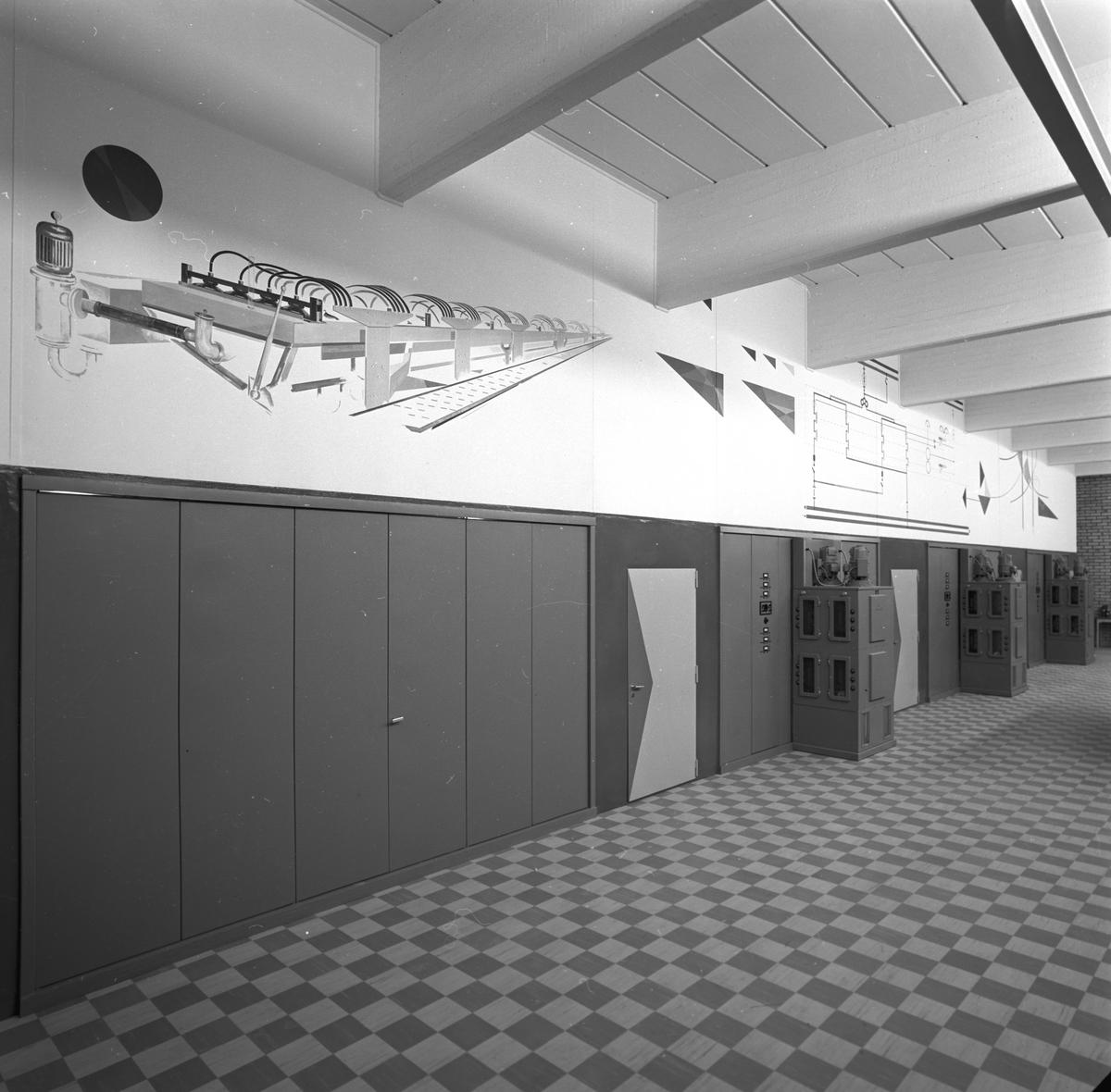 Klorfabriken. Korsnäs AB. Den 19 september 1957