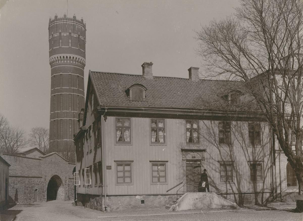 Larmtorget. Västra Vallgatan. Västerport, Vattentornet.
