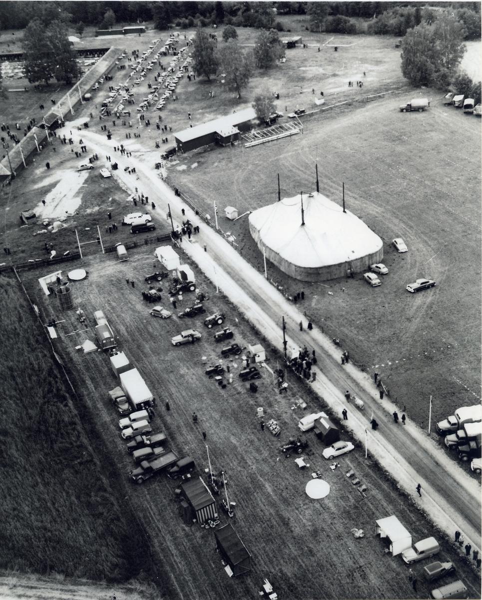 Flyfoto av dyrskuplassen