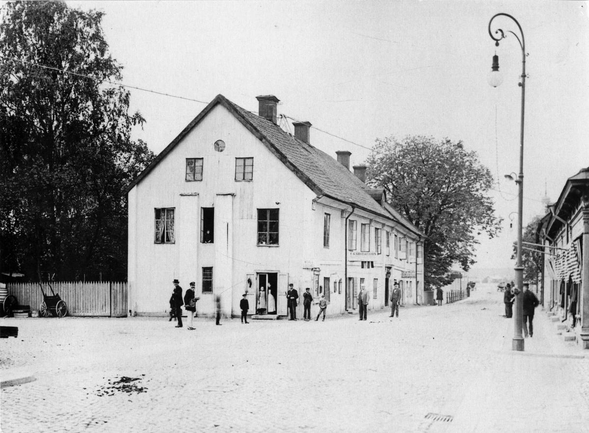 Nauckhoffska gården, 1901