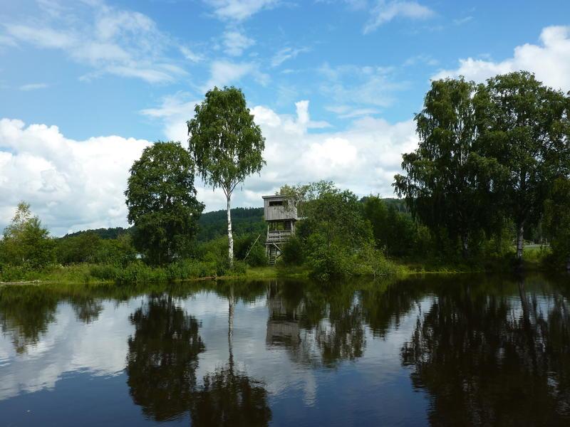 Fugletårnet på Jørholmen.