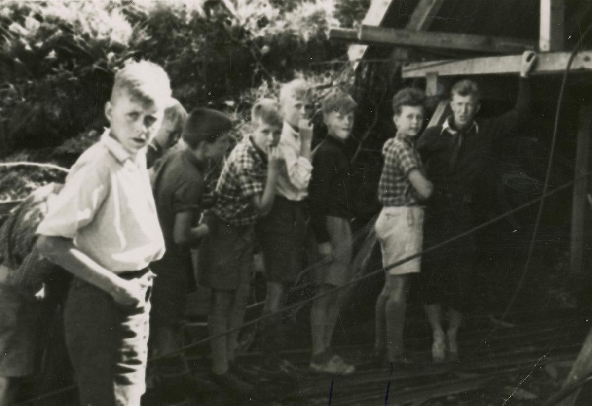 From boys'camp at Ruudhytta